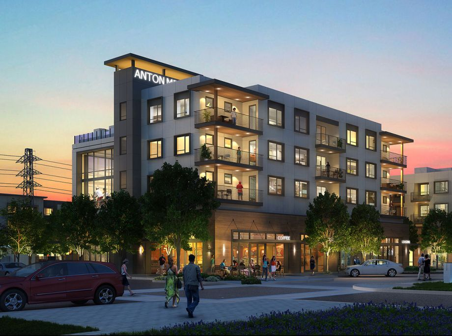 Anton Menlo – St. Anton Partners Inks $96M Construction Loan for Facebook Co-Designed Apt. Project