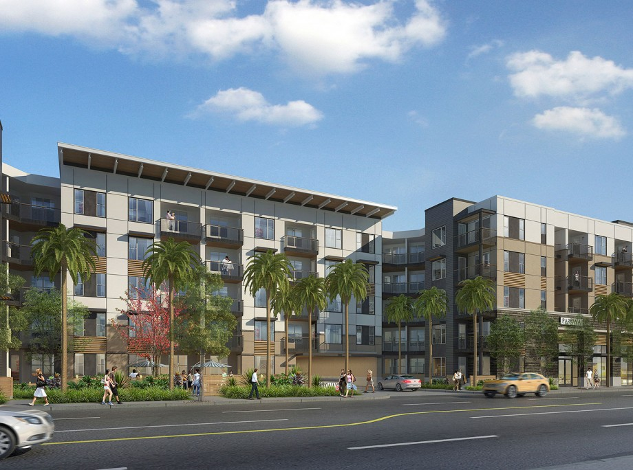City Parkway West Apartments | Wrap Apartments | Orange, California | KTGY Architecture + Planning
