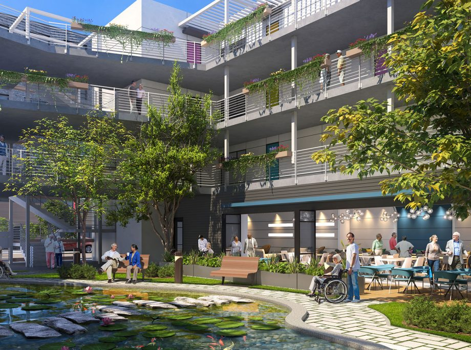 New 'Co-Care' Concept Offers Design for Middle-Market Senior Living