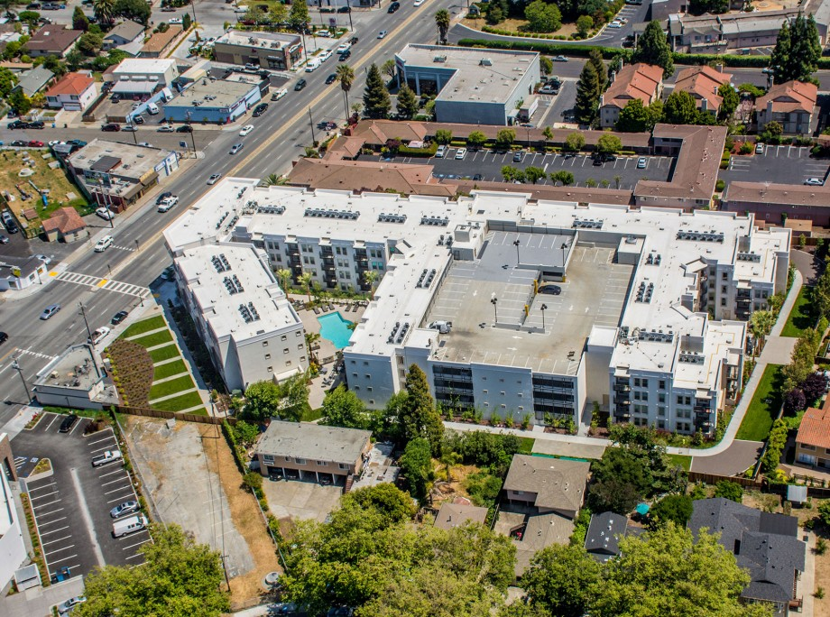 The Lane on the Boulevard | Wrap Apartments | Redwood City, California | KTGY Architecture + Planning