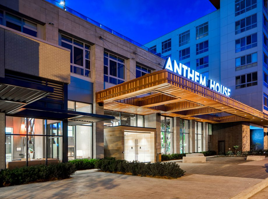 Anthem House | Mixed-Use Podium Apartments | Retail | Baltimore, Maryland | KTGY Architecture + Planning