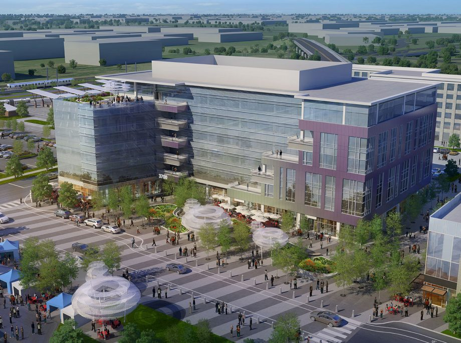 Central Park Station TOD Master Plan | Apartments | Retail | Office | Hotel | Denver, Colorado | KTGY Architecture + Planning