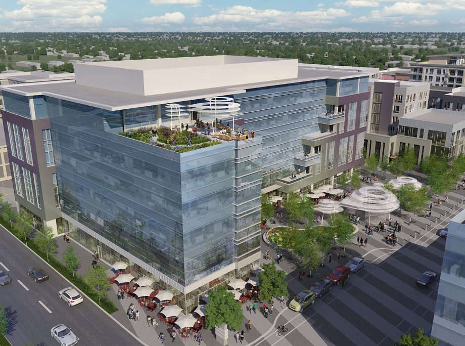 Central Park Station TOD | Master Plan TOD Mixed-Use Podium Apartments | Retail | Office | Hotel | Denver, Colorado | KTGY Architecture + Planning