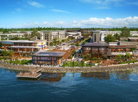 Shops at LakePointe – 214-Acre MPC Under Way Near Seattle