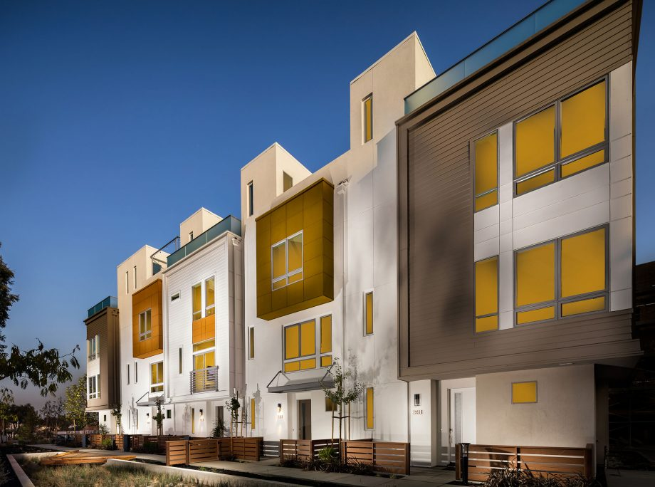 Perch – New KTGY-Designed Townhomes Introduce Rooftop Decks to Downtown Dublin