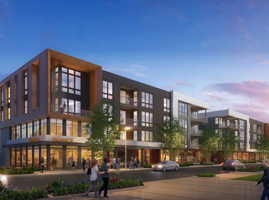 Warm Springs   Stacked Flats   Townhomes   Wrap   Podium   Office & Convention   Retail & Entertainment   School & Park   Fremont, California   KTGY Architecture + Planning