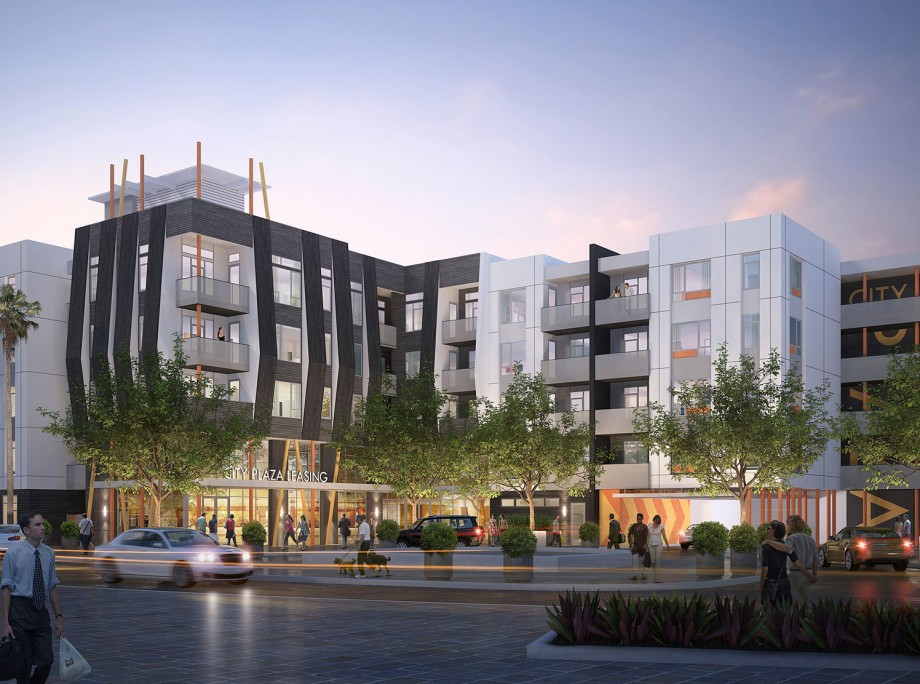 City Plaza Apartments | Wrap Apartments | Orange, California | KTGY Architecture + Planning