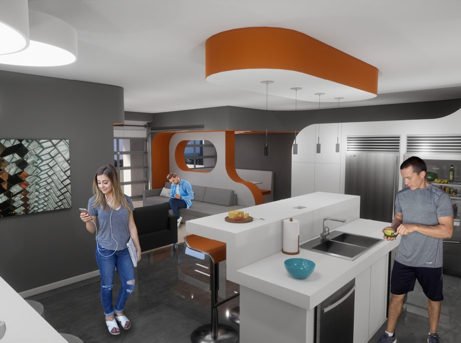 Macro-Unit – A Housing Concept for Young Urban Professionals