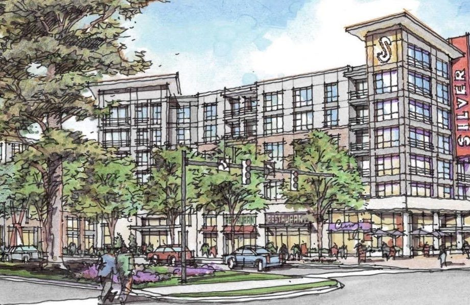 Downtown Silver Spring building to be razed for 360-unit mixed-use project