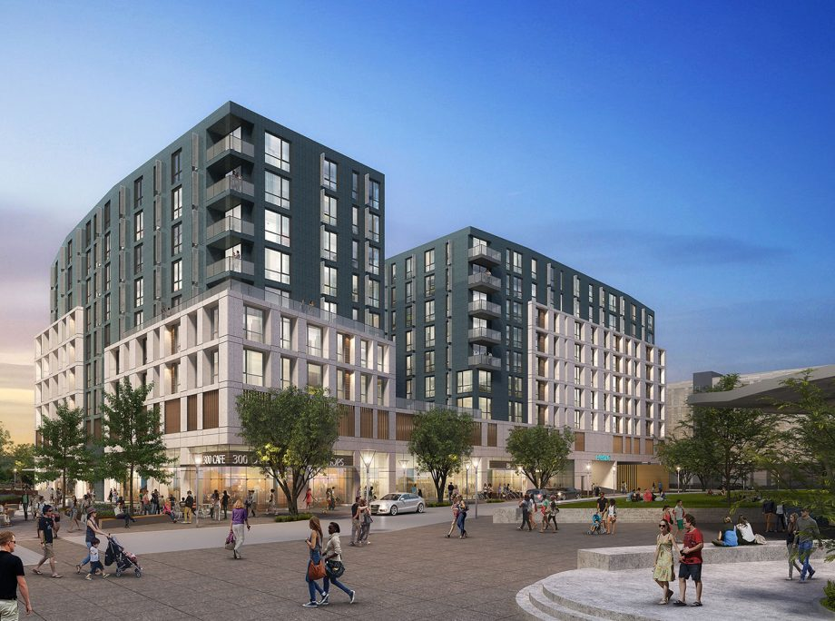 The Exchange – Developers named for S.L.'s Barnes Bank 400 South project