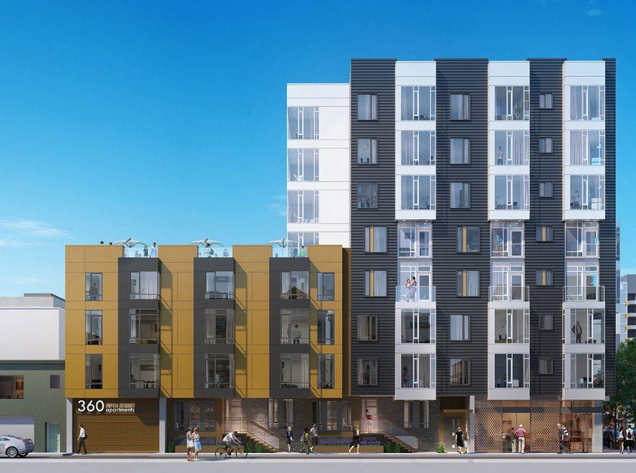 360 5th Street | Mixed-Use Podium Apartments | Retail | San Francisco, California | KTGY Architecture + Planning