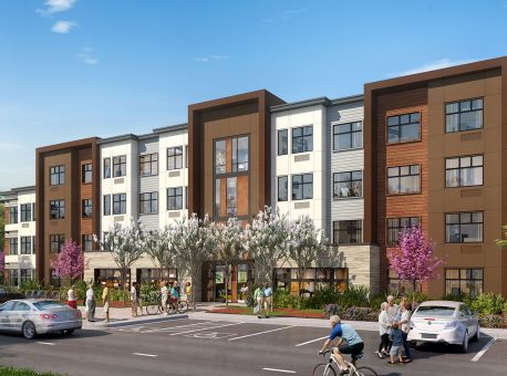 Estrella Vista – KTGY-Designed Transit-Oriented Affordable Housing Community Targeting Large Families Breaks Ground