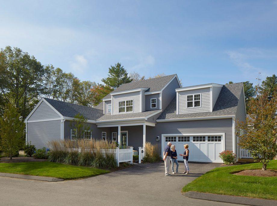 The Lanterns at Warren Woods – Efficient New England Homes Break the Modular Mold