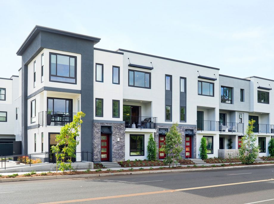 LUX – KTGY, Intracorp Open Uptown Irvine Townhomes