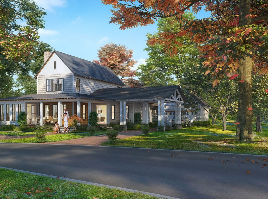 The Porches of Allenberry – New neighborhood at central Pa. resort opens, with some houses starting at nearly $600K: Take a look inside