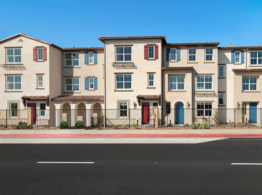 KTGY Designs Attainable Townhomes and Retail for Baldwin Park Infill Site