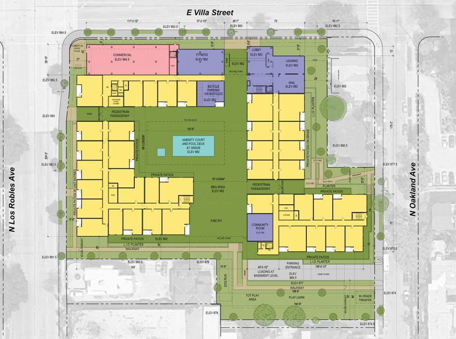542 Los Robles – Mixed-Use Complex Could Replace 99 Cent Store in Pasadena